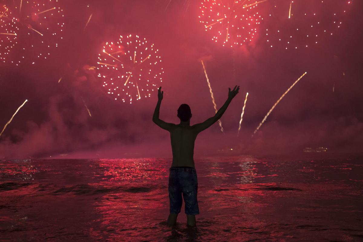 APTOPIX Brazil New Year