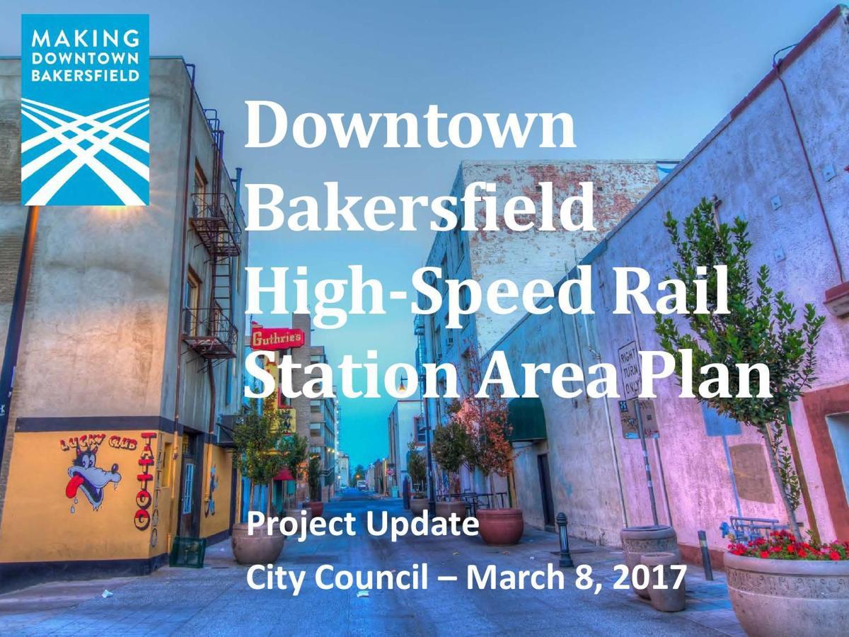 HSR station area plan update