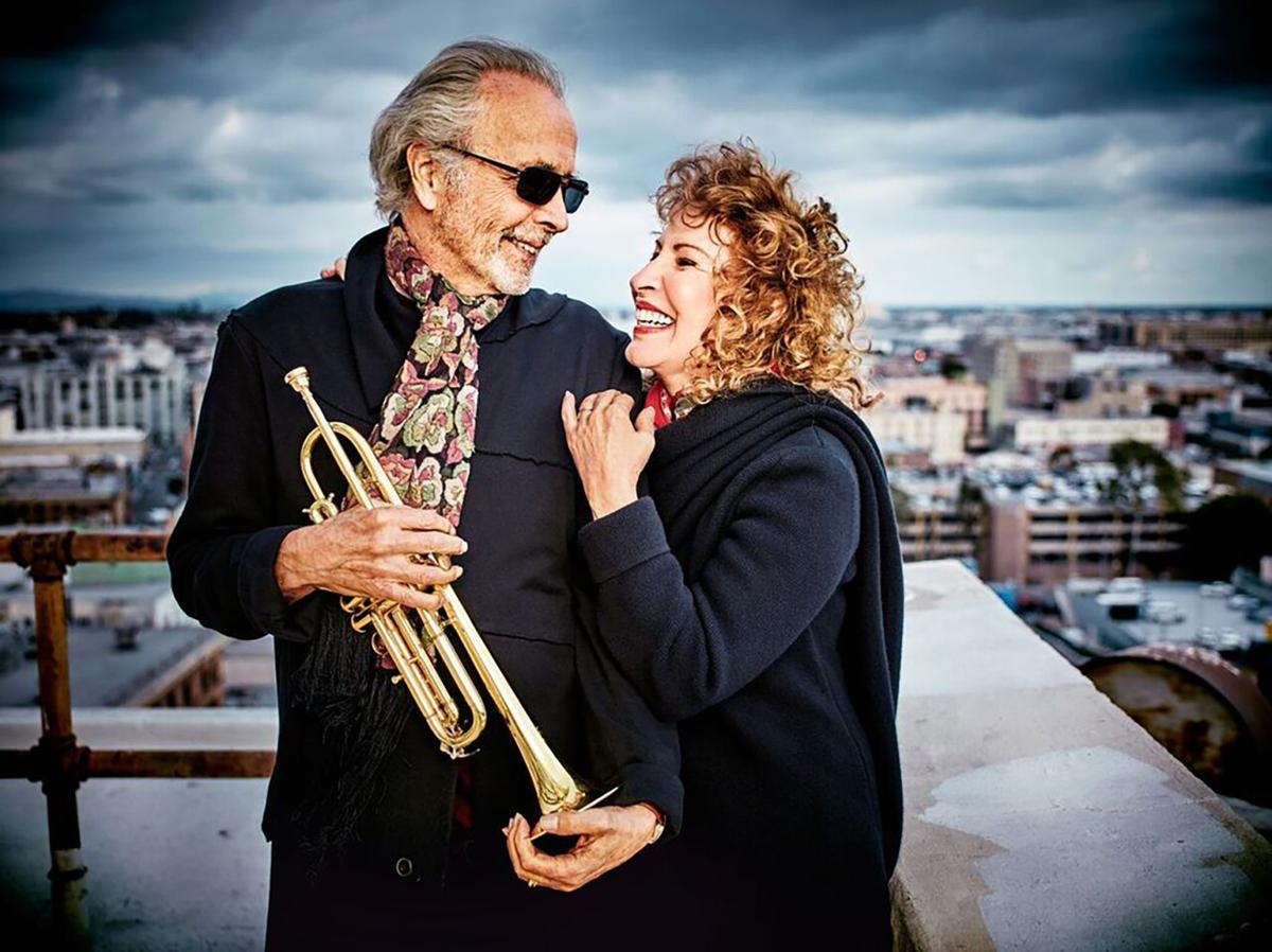 Herb Alpert and his wife