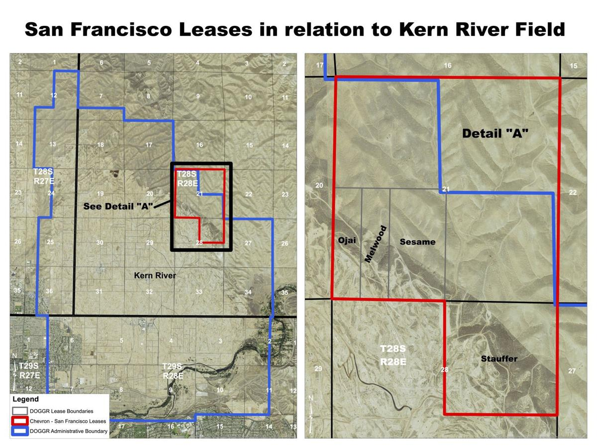 San Francisco owned land in Chevron's Kern River field