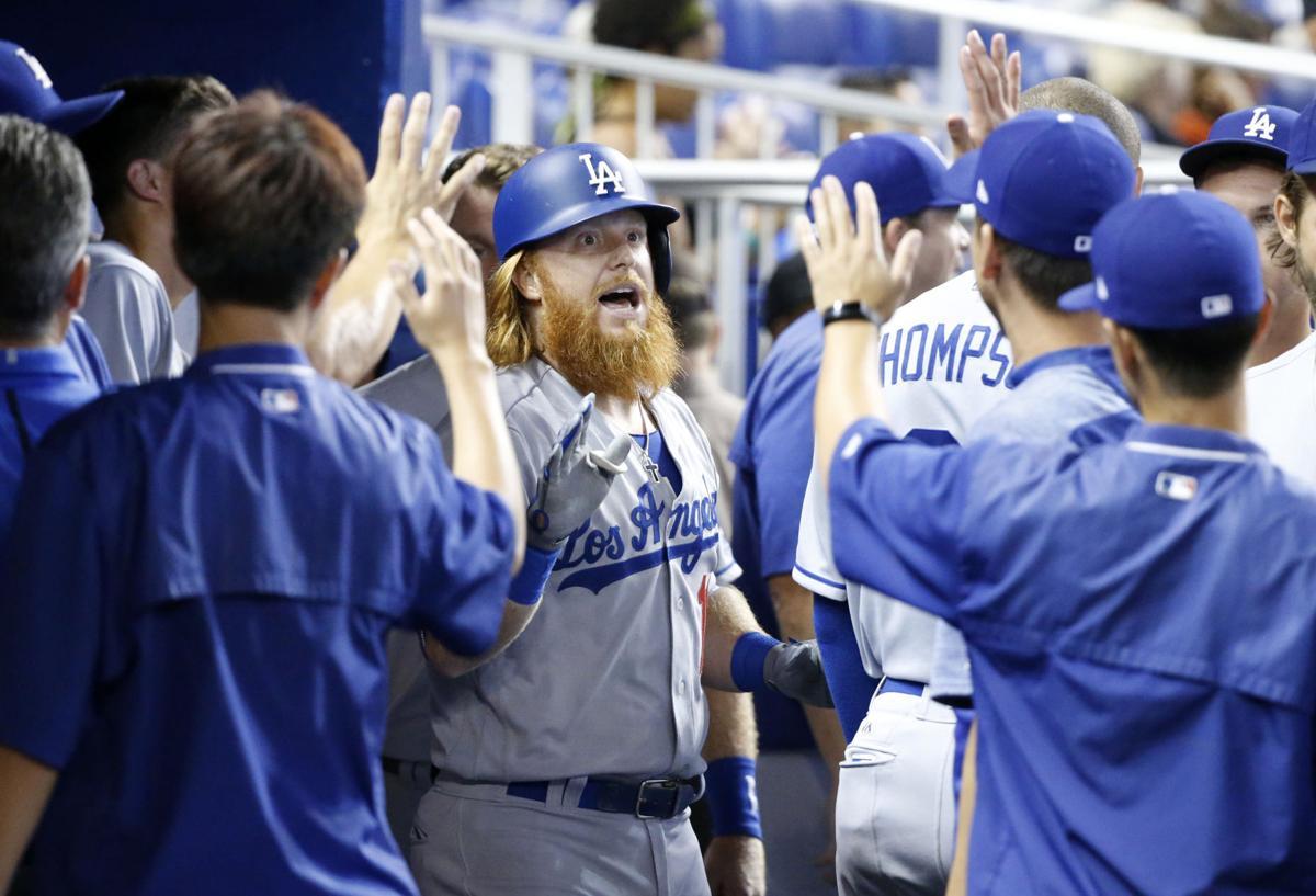 Dodgers Marlins Baseball