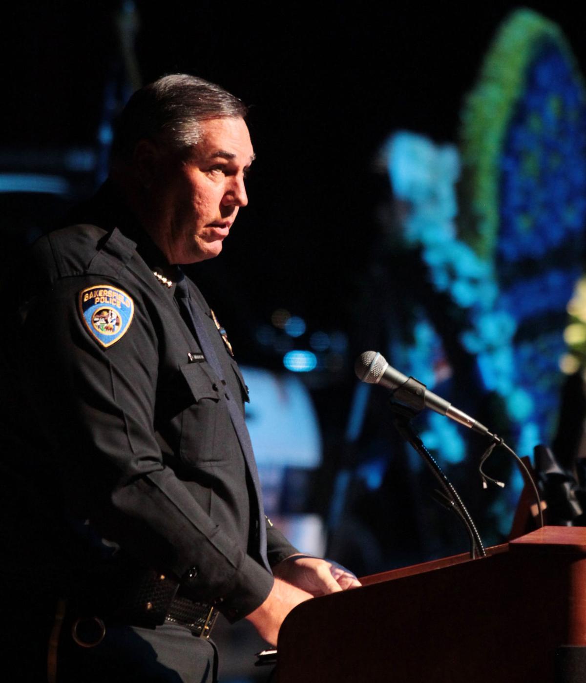 Tears, Laughter Mark Bakersfield Police Officer's Memorial