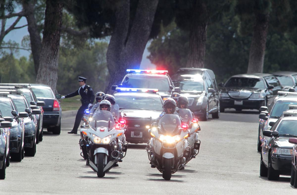 OFFICERS FUNERAL
