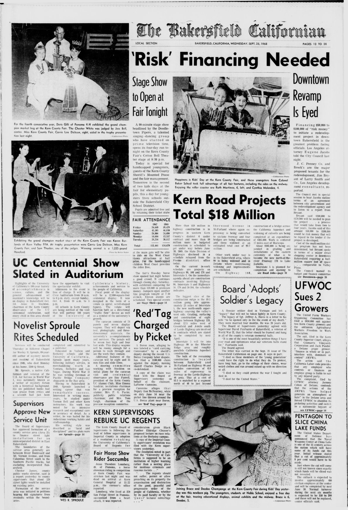 TBC Time Capsule: Sept. 25, 1968