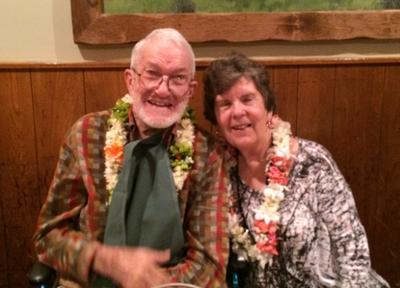 Dr. Tom and Pauline Larwood