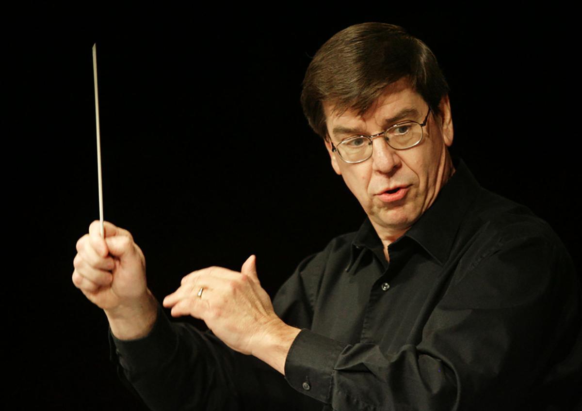 Doug Davis of CSU Bakersfield conducting