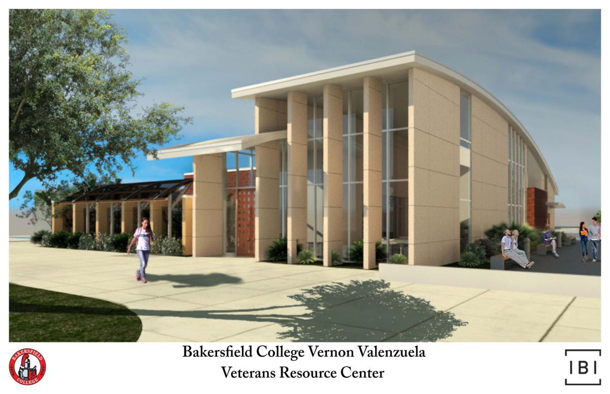Vernon valenzuela Veterans Resource Center Rendering