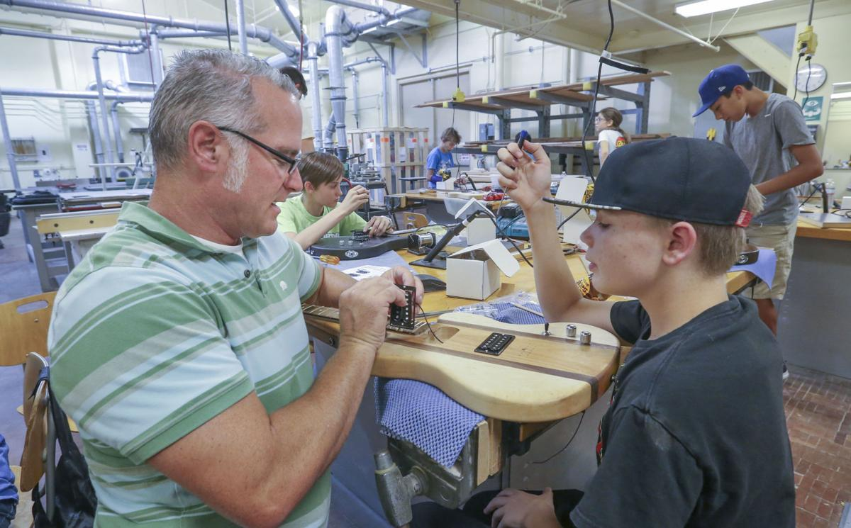Rock on! Hands-on STEM Academy is 'way more fun than school'