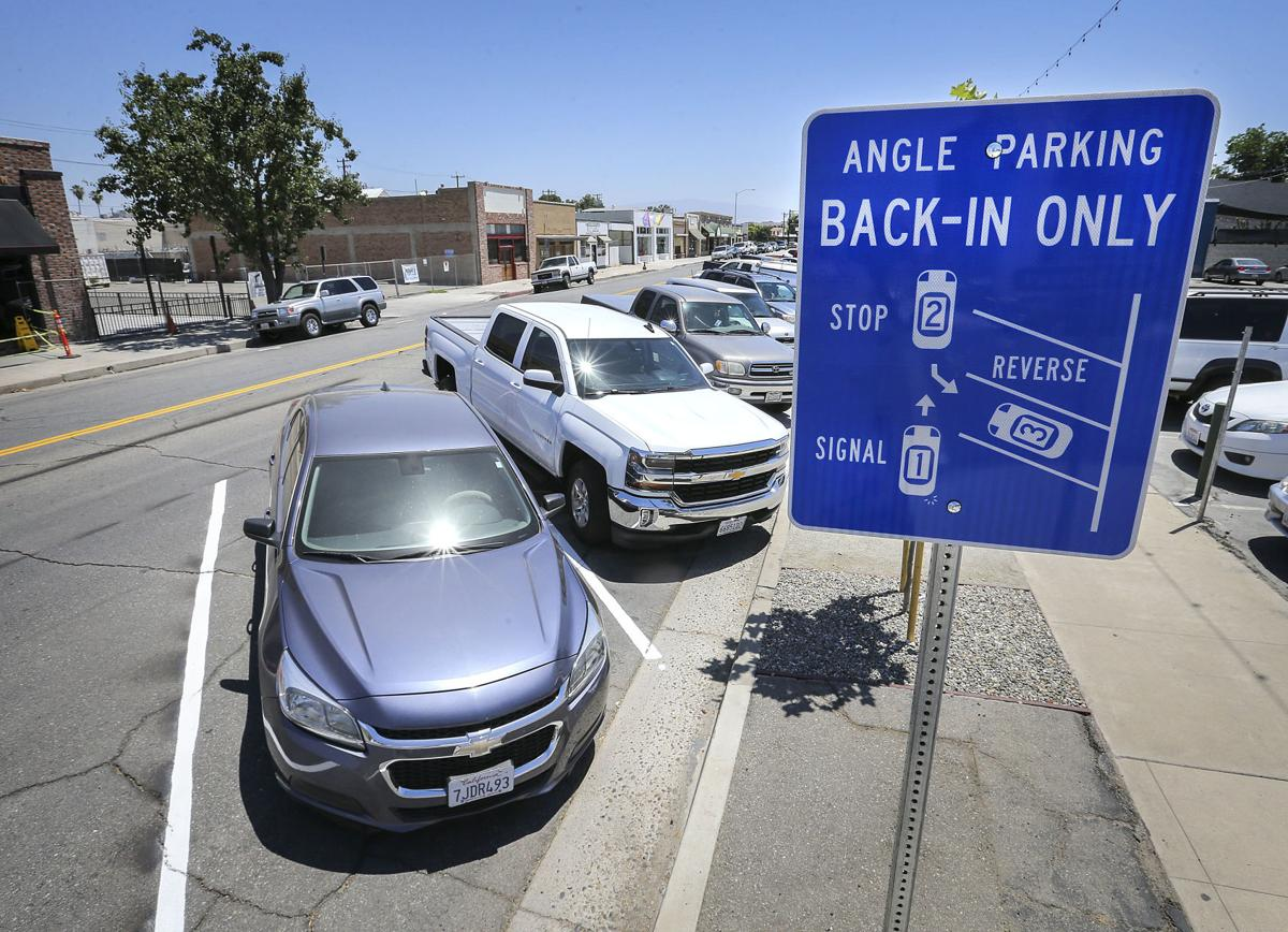 Some downtown businesses voice concerns about back-in parking
