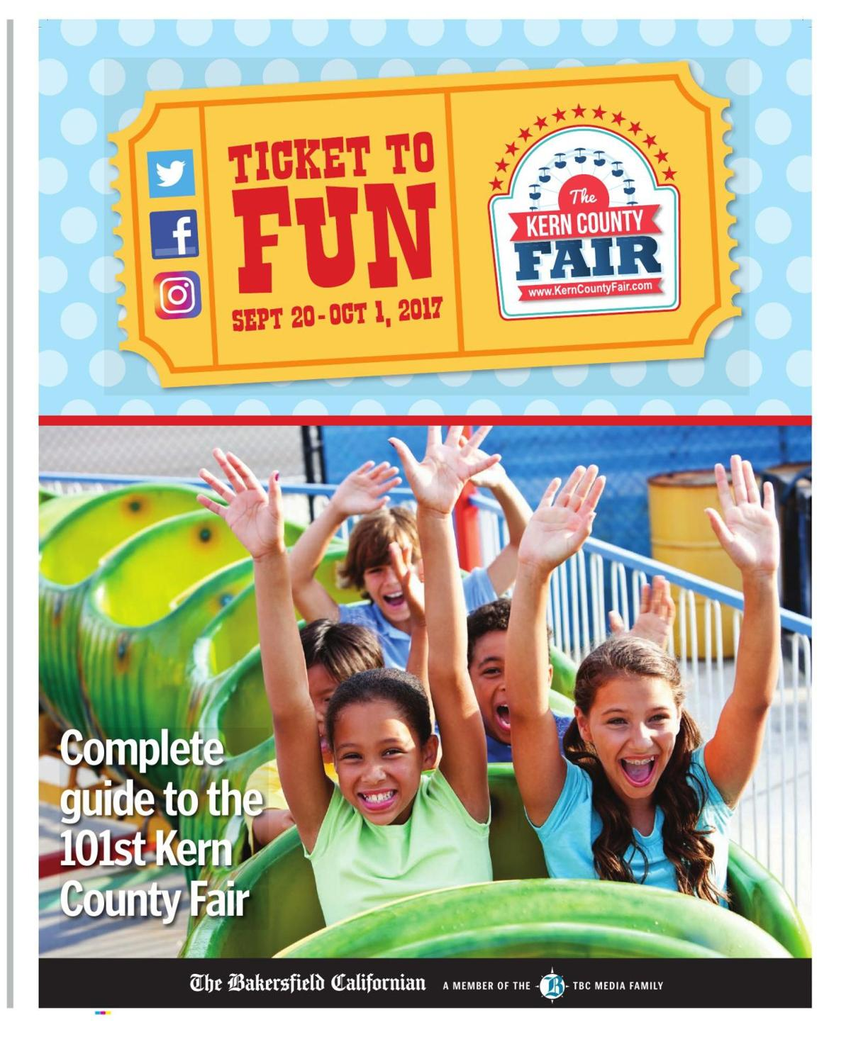 'Ticket to Fun' - Complete guide to the 101st Kern County Fair