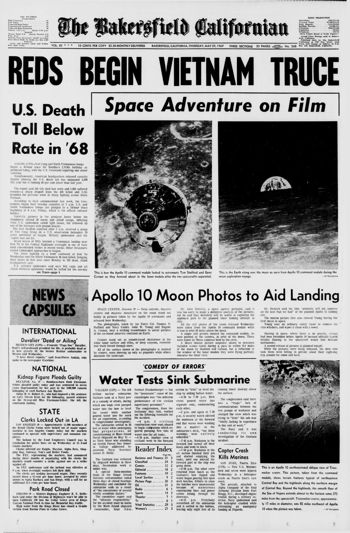 TBC Time Capsule: May 29, 1969