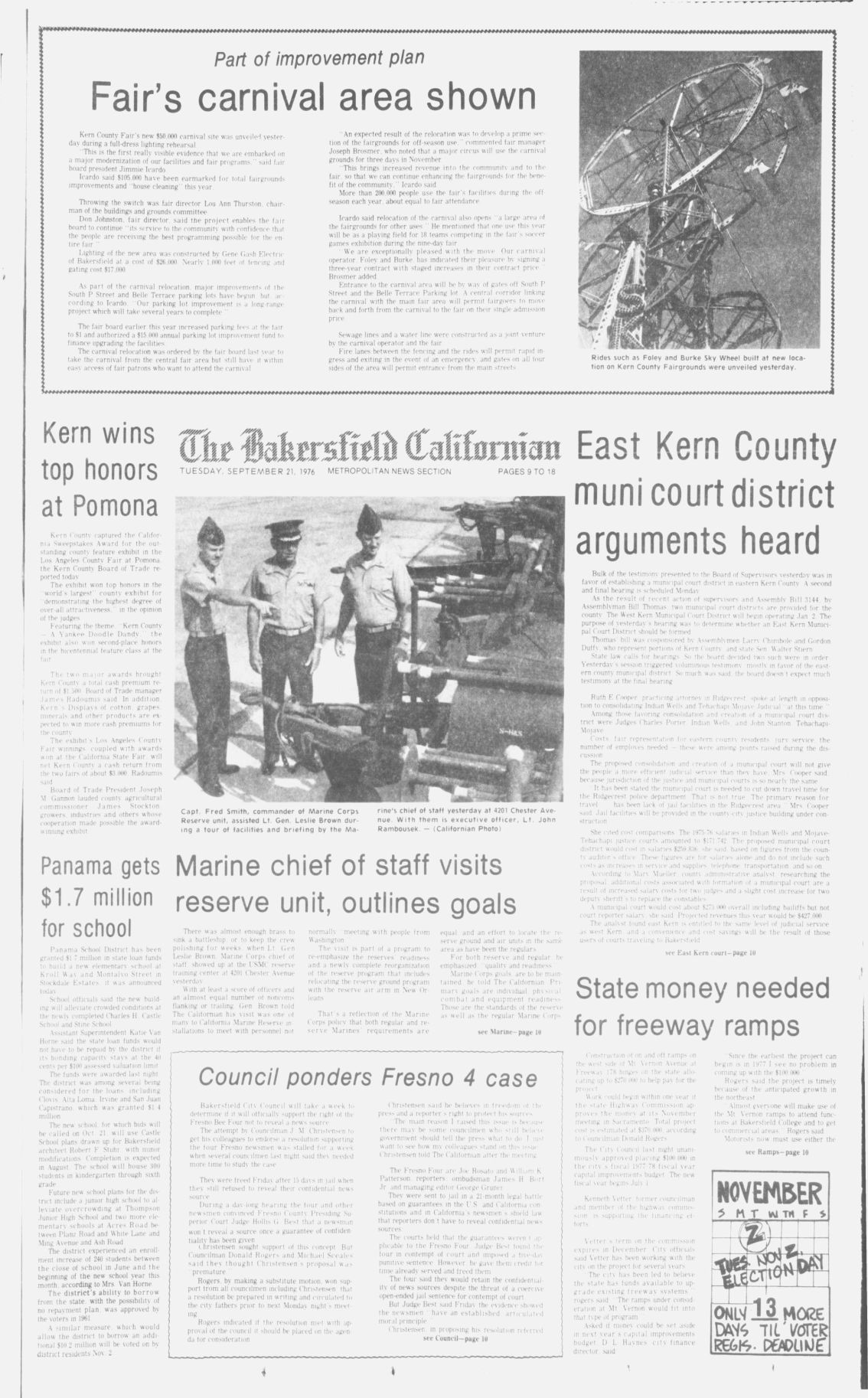 TBC Time Capsule: Sept. 21, 1976
