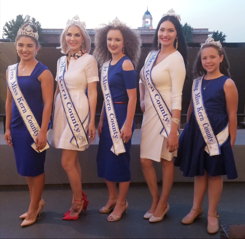 Kern County Beauty Pageant winners