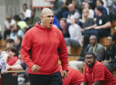 BHS plays Centennial In Boys Basketball