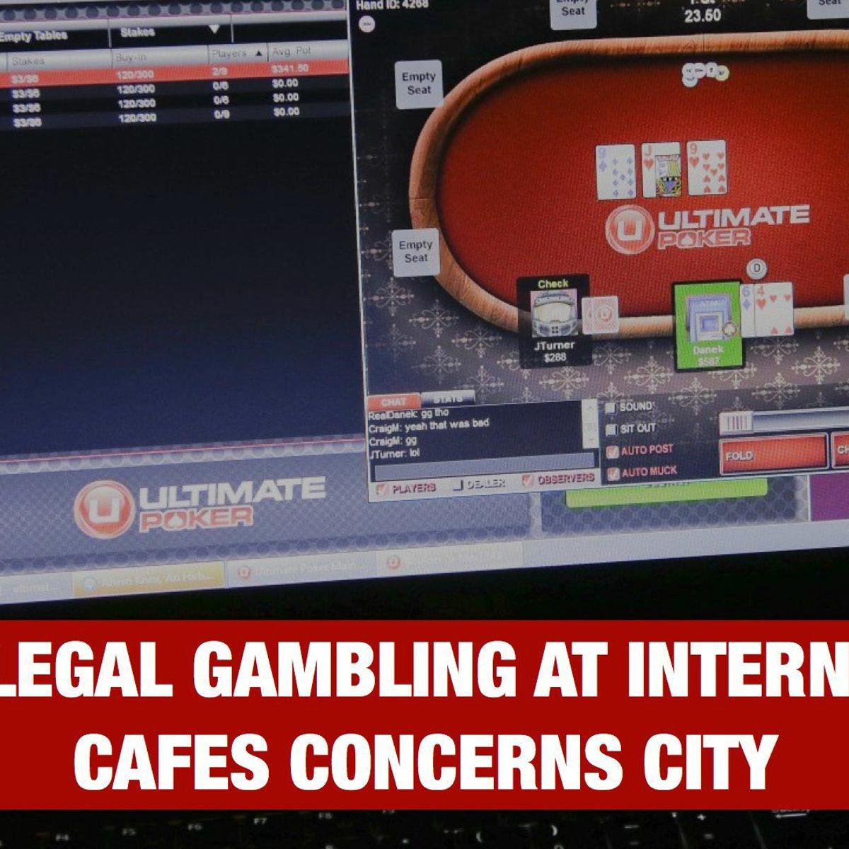 City waiting for signal to stop illegal gambling in Internet