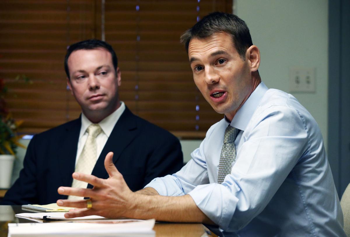 Lawyer Rick Rowley and Seth O'Dell