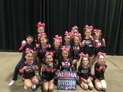 BCA Rockstars cheerleading teams compete in Visalia