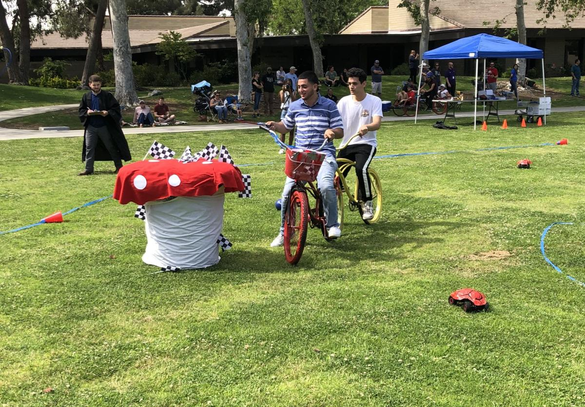 Rowdy Cart Race