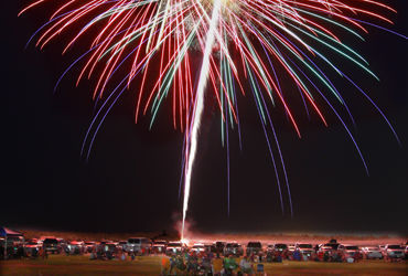 Petroleum Club offers fantastic view of fireworks while other Fourth of July events stick to tradition