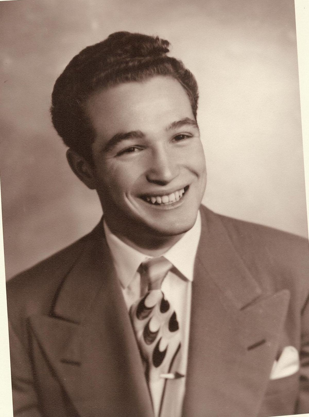 Milt Younger at age 18