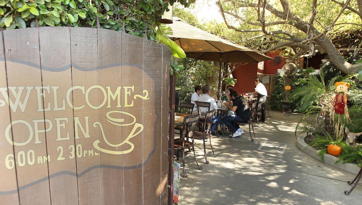 Village Grill patio