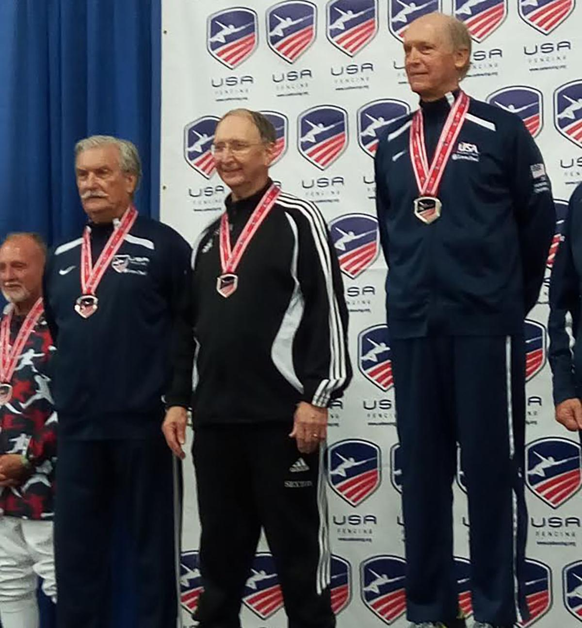 Local man places third at U.S. Fencing National Championships
