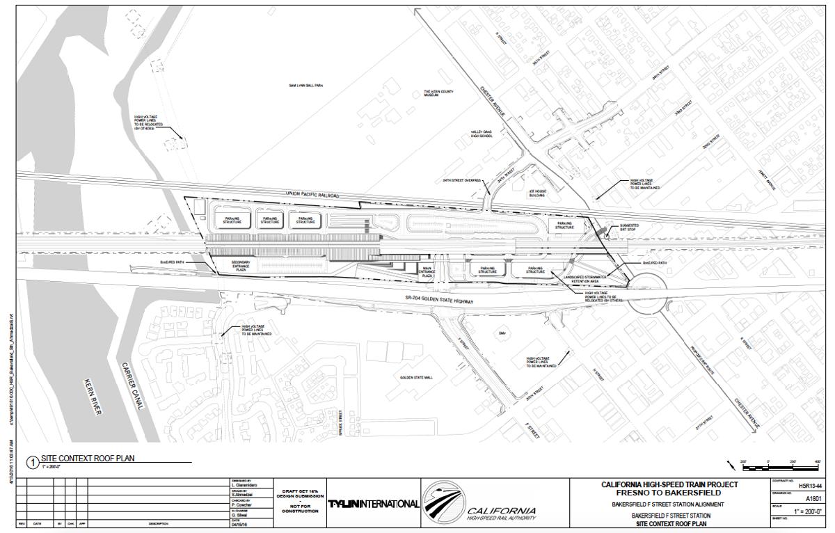 Plans Emerge For Bullet Train Station News Schematics