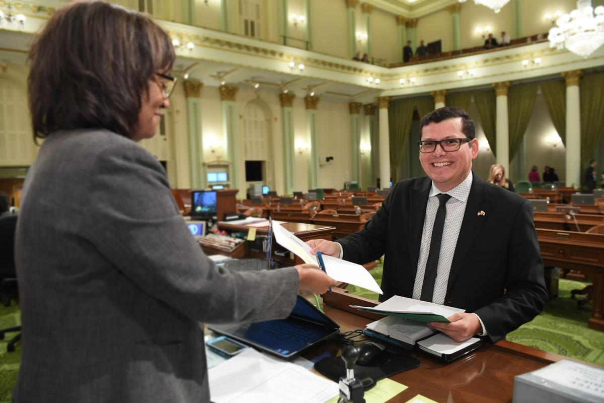 4dcc99909 Biggest legislative win of the year  Valley fever bills co-authored by  Assemblyman Rudy Salas
