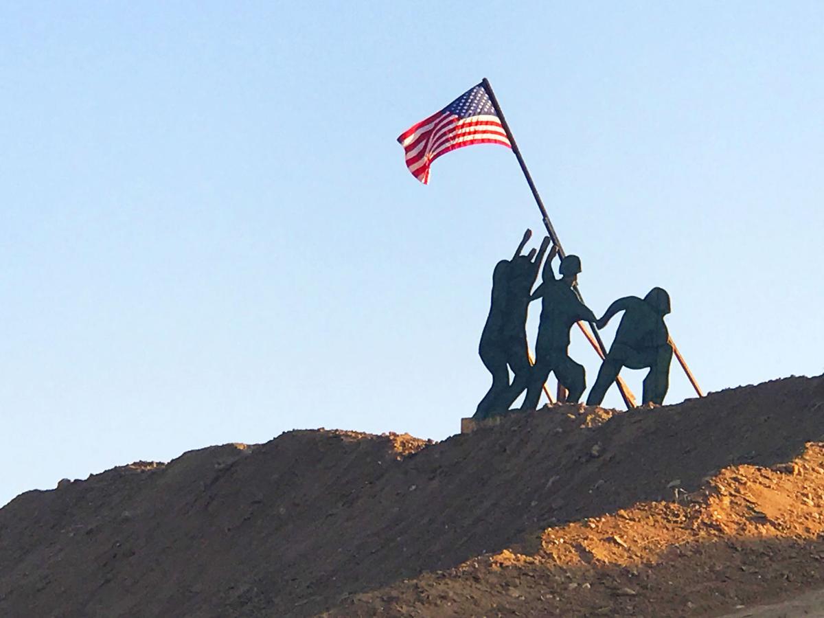 Flag Raising 1