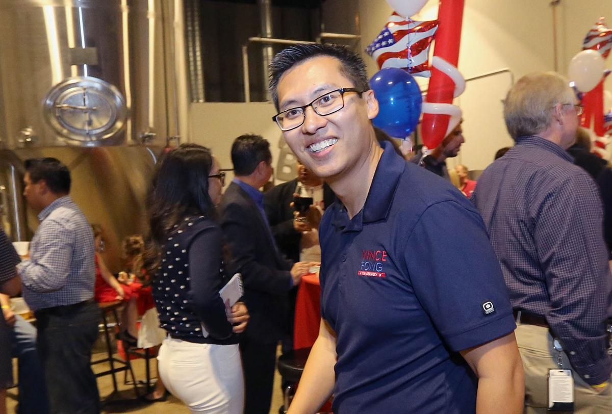 Vince Fong Election Day