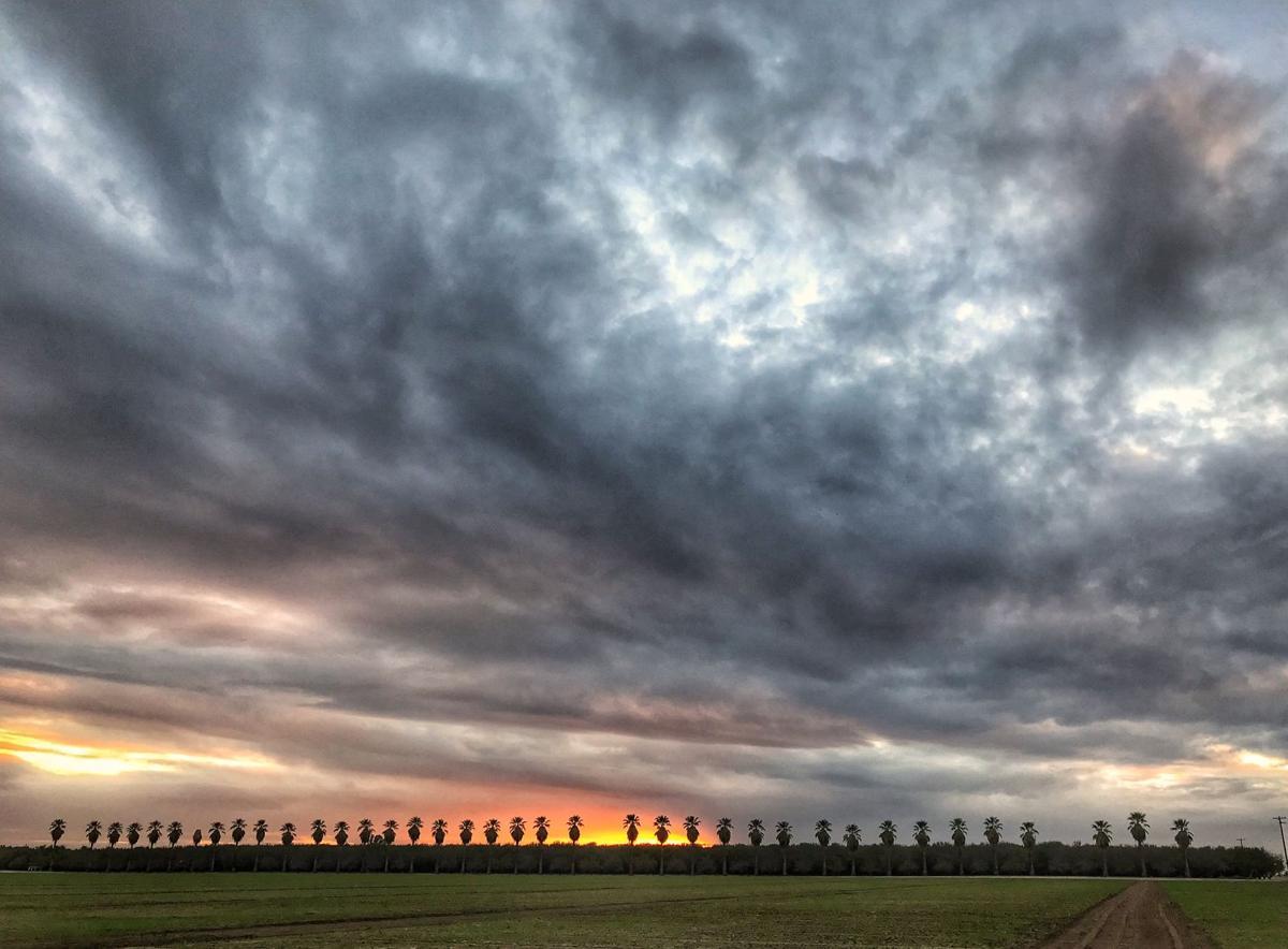 sunset in Kern tyl