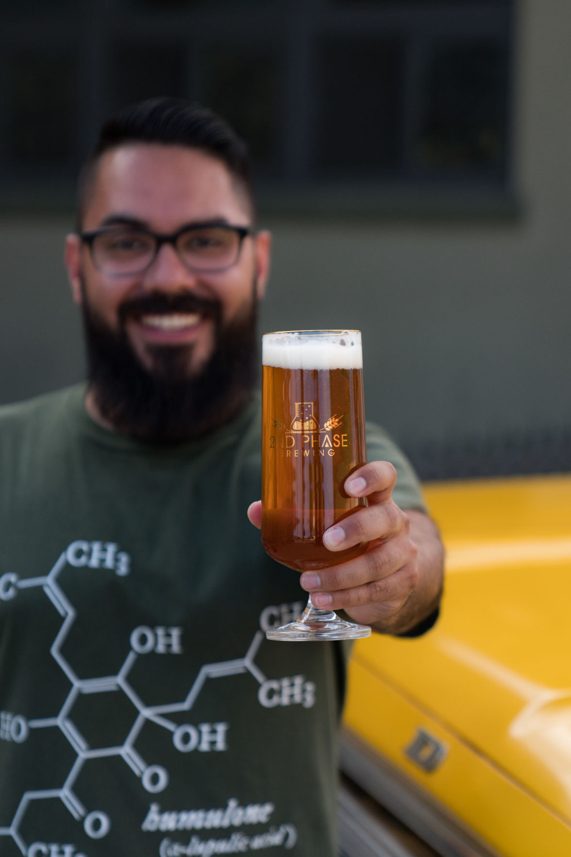 "2nd Phase Brewing Co. owner Frank ""Pancho"" Miranda"