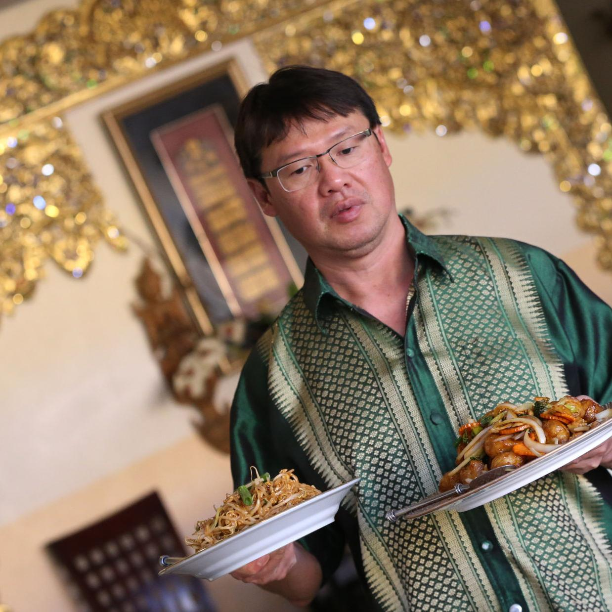 Pete Tittl Curry Favor By Recommending Thai Kitchen Food