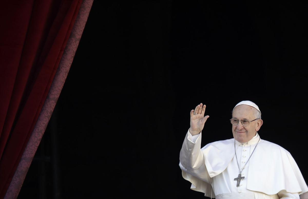 APTOPIX Vatican Pope Christmas