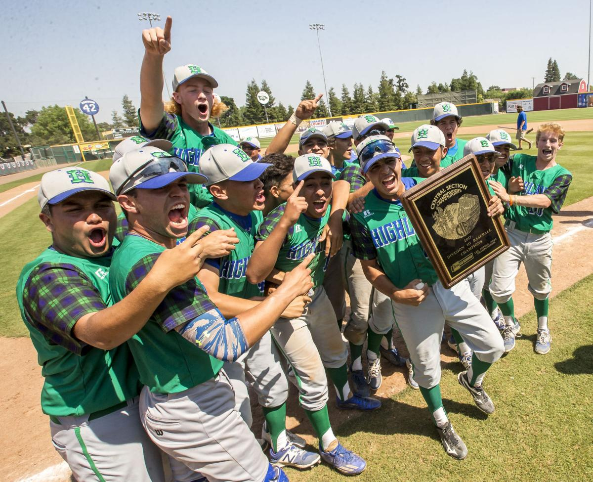 Highland wins first baseball section championship
