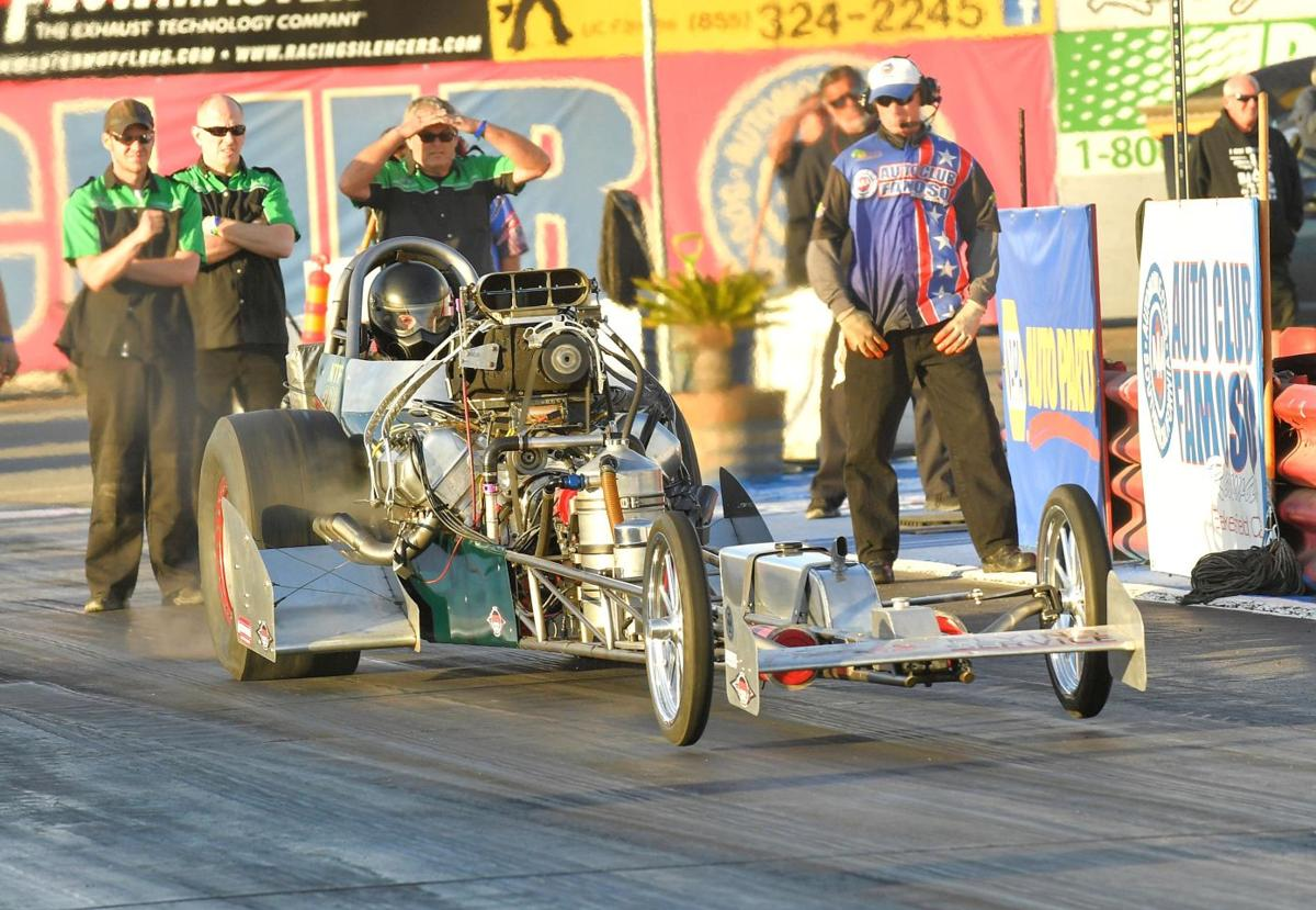 Young travels a long road in quest for another California Hot Rod Reunion victory
