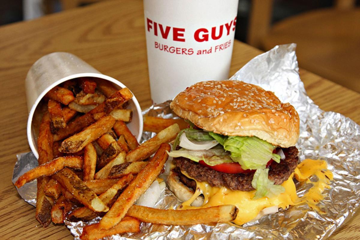 Five guys coupons - Five Guys