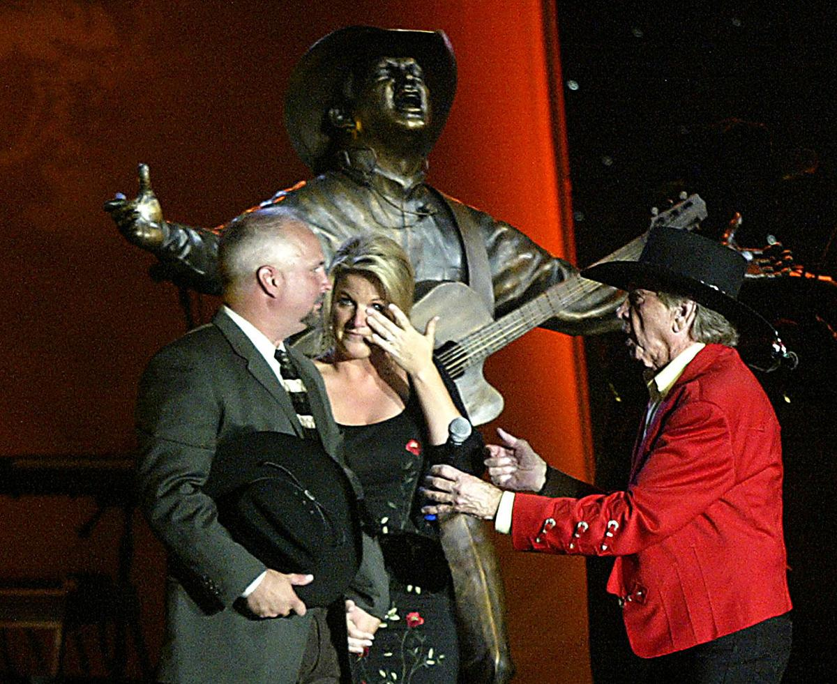 Buck Owens' Legends in Bronze, Crystal Palace, 'Bakersfied' gateway arch among his enduring gifts to city (copy)