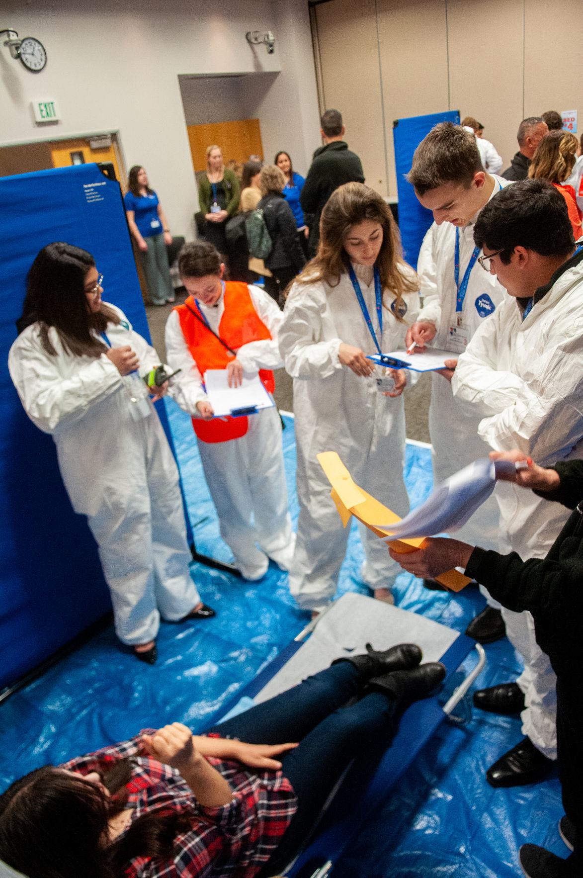 Youth Leadership Mock Medical Emergency