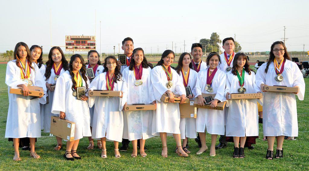 Pioneer School Top 15 Scholars