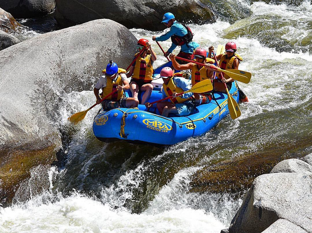 Rafting on the lower Kern River2