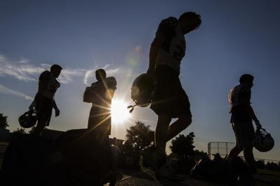 Excessive heat delays start of tonight's local high school football