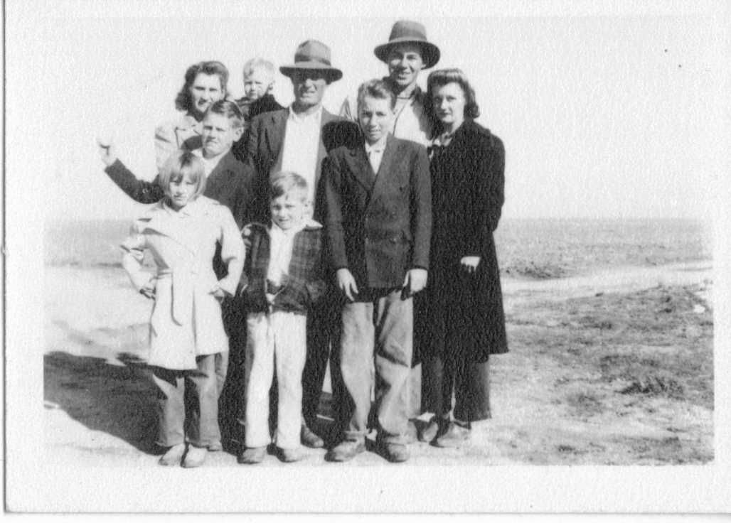The Maxwell family in 1941