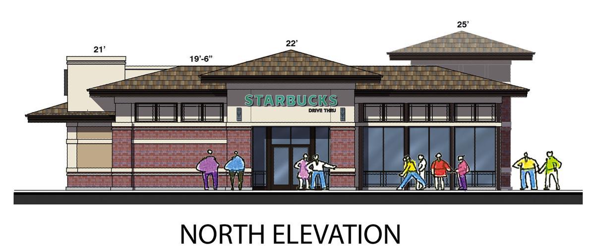 BV - Starbucks North Elevation