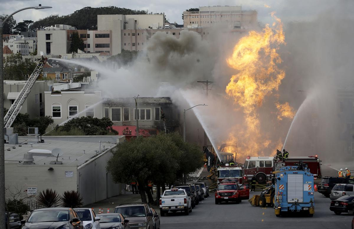 San Francisco Gas Explosion