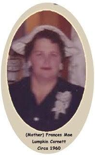 Frances Mae Lumpkin Cornett