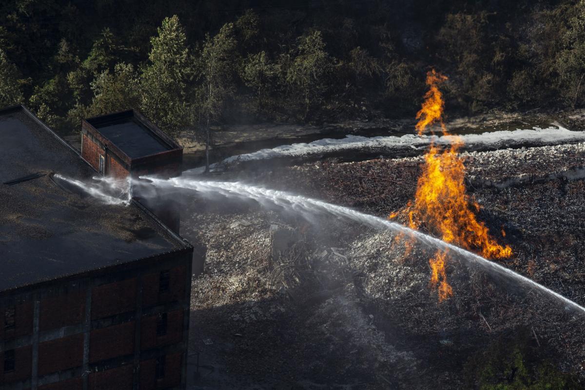 Jim Beam Facility Fire