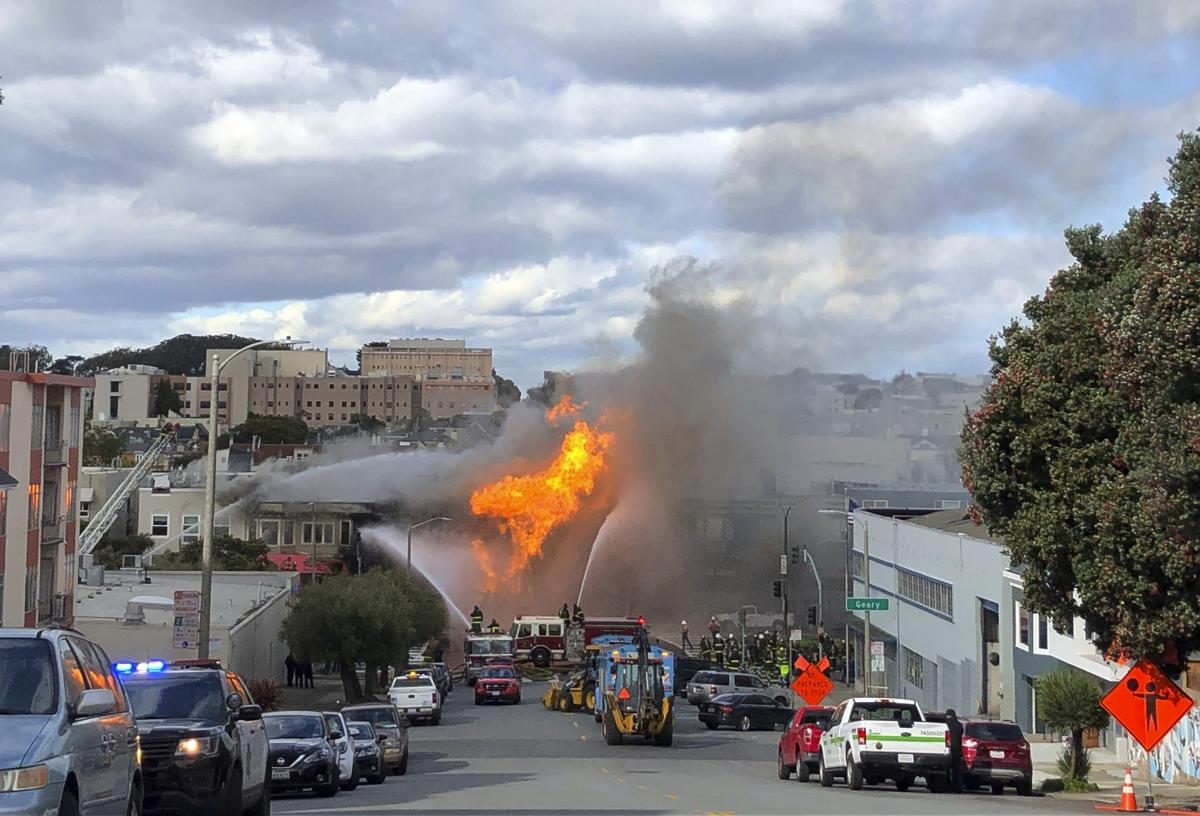 APTOPIX San Francisco Gas Explosion