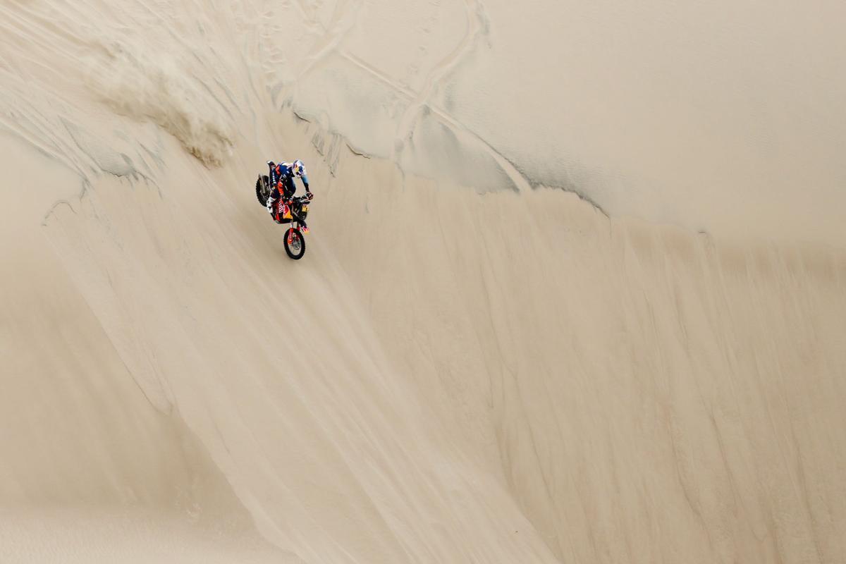 APTOPIX Peru Dakar Rally