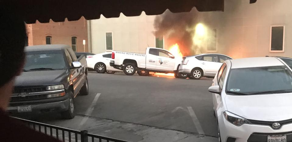 Explosion at AT&T building rocks downtown Bakersfield; power outages for blocks